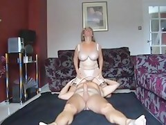 UK femdom older fuck with son-in-law