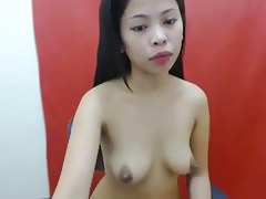 Fascinating THAI HOTTY SHOWING HER WONDERFUL MANGOS ON LIVECAM