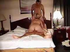 Blonde unpaid and two guys sexual intercourse tape