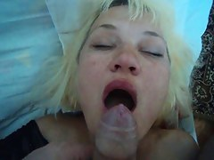 grown up ho gets two loads of hot cum