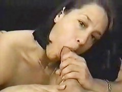 Awesome Latina blowjob in verge