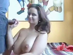 Chunky Boobs Amateur Babe in Casting