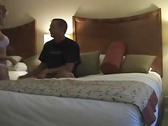 Amateur bitch fucking stunningly a stranger in hotel