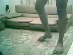 Indian lovers fuck on the floor