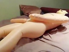 Amateur chick bf and lovemaking doll dp