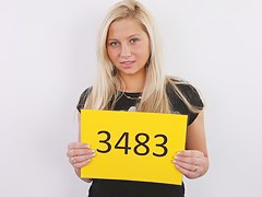 CZECH CASTING - Dispirited GOLDEN-HAIRED HOTTY VERONIKA (3483)