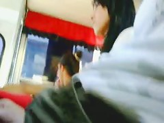 Sexy asian cooky in Dickflash bus cought on candid cam by our public segment hunter