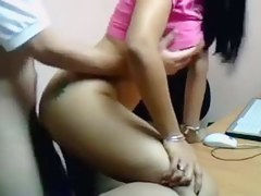 Desi Promoter Fucked By Boss In Office
