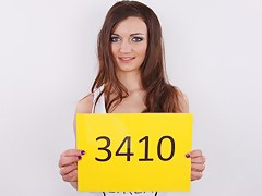 CZECH CASTING - 1St ANAL session Adela (3410)
