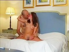 Teen gets rough anal from an old supplicant