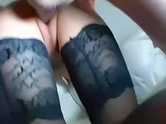 French swinger housewife fucked to front of hubby