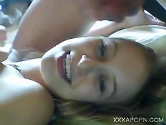 blondie teenie bj and facial on livecam