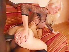 Blonde Wife Stretched before Conjugal