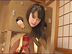 Japanese lackey inclusive creampie