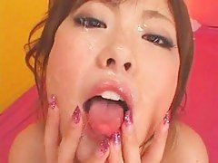 Busty JAV Cutie - Fun With Cum!