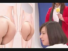 Hot MILF strapon-fucks a Japanese bimbo