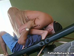 Nina Stevens Is a Blonde Ballbuster who Takes Femdom Surpassing an obstacle Most Extreme Limits