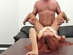 Redhead Beauty's Casting Anal