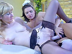 GirlsForMatures Video: Amelia B coupled with Charlotte