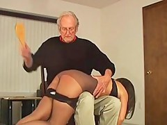 Hairbrush Spankings 4
