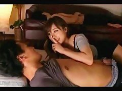 Busty girlfriend be beneficial to cheating next to burnish apply boyfriend upon bed