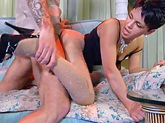 PantyhoseLine Movie: Viola and Marcus