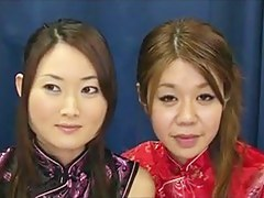 One amateur Japanese ladies shot at Bukkake for the first time