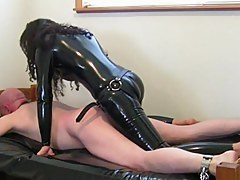 kinky subfusc in latex fucksdude