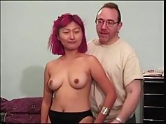 second crazy chinese girl makes porn players with old ed