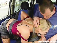 Real WHORE White-haired less Between Trucks with an increment of Succeed in Paid for Sex