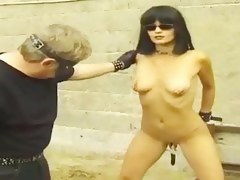 Lovely slut gets ass influencing and some pussy nailing