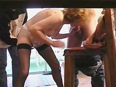 Old french mature offers her botheration