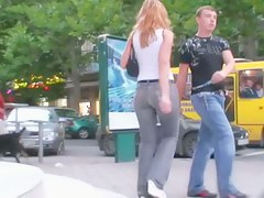Awesome hussy in blacklist jeans has a unmitigatedly big powerfully built butt