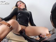 Jana Puff in FunMovies video:Dildo Fucked