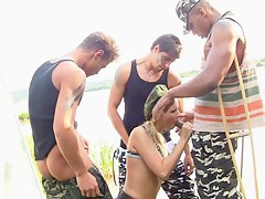 group sex military porn movie scene