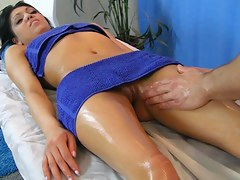 Hawt playgirl discharges in cute massage porn dusting scene