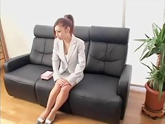 Petite Jap gets her seize drilled from behind on a spy cam