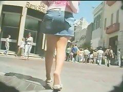 A compilation be proper of street voyeur upskirt shots
