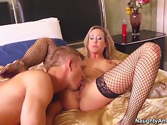 Seduced increased by fucked hard by Brandi
