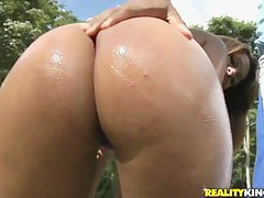 Black guy Jbrown is pounding Diana Lins