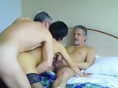French mature loves trios with shush plus friend