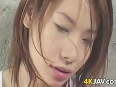 Japanese Beauty Working Out