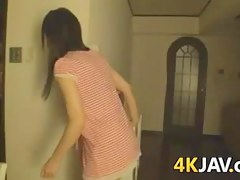 Japanese Cutie Fucked In The Bathroom
