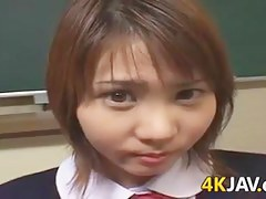 Naughty Japanese Schoolgirl
